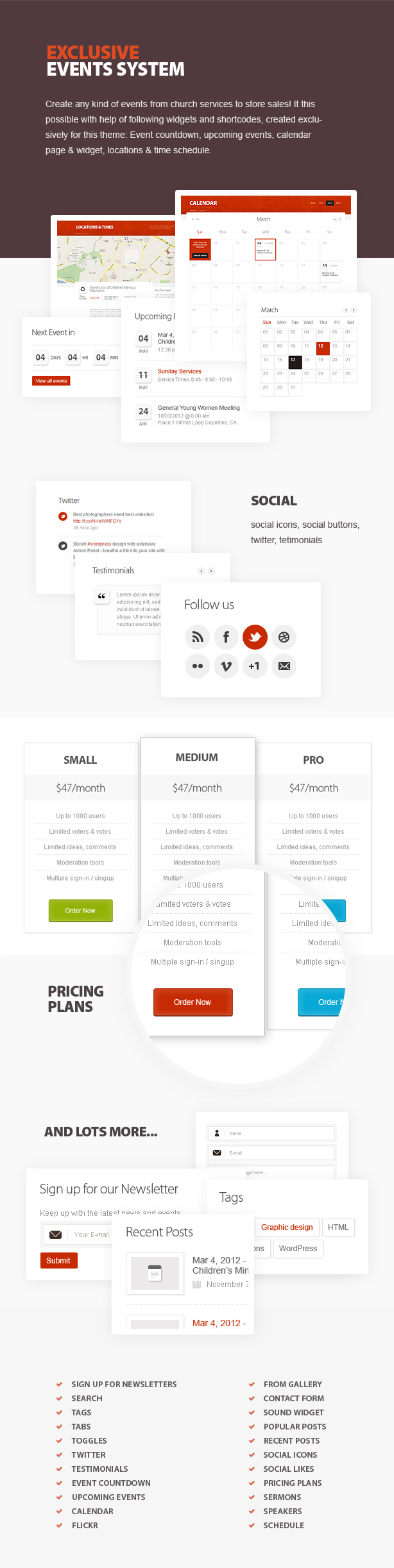 ChurcHope - Responsive WordPress Theme - 8