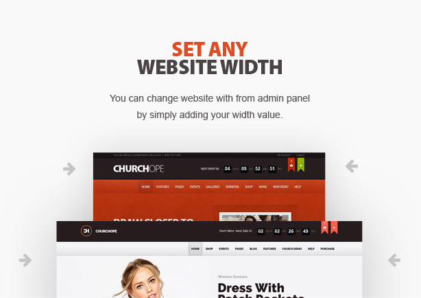 ChurcHope - Responsive WordPress Theme - 5